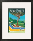 The New Yorker Cover - August 11, 2014 Wall Art by Lorenzo Mattotti
