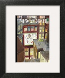 The New Yorker Cover - January 5, 2015 Wall Art by Jean-Jacques Sempé