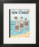 Trunk Show - The New Yorker Cover, August 25, 2014 Art Print by Danny Shanahan