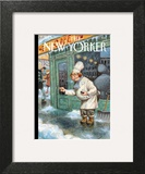 Just a Pinch - The New Yorker Cover, January 27, 2014 Art Print by Peter de Sève