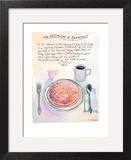 The New Yorker - July 22, 2013 Art Print by Maira Kalman