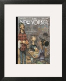 The New Yorker Cover - November 3, 2014 Art Print by Peter de Sève