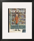 Top Choice - The New Yorker Cover, October 28, 2013 Wall Art by Peter de Sève
