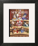 Fun and Games in Congress - The New Yorker Cover, October 27, 2014 Wall Art by Mark Ulriksen