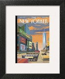 The New Yorker Cover - February 2, 2015 Art Print by Bruce McCall