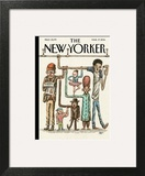 The New Yorker Cover - March 17, 2014 Art Print by Ricardo Liniers