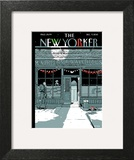 'Tis the Season - The New Yorker Cover, December 9, 2013 Art Print by Istvan Banyai