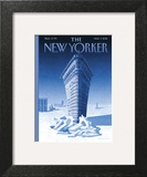The New Yorker Cover - March 9, 2015 Art Print by Birgit Schössow