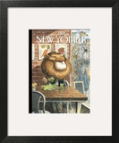 A New Leaf - The New Yorker Cover, April 7, 2014 Wall Art by Peter de Sève