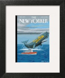 Cap'n Ahab's - The New Yorker Cover, June 30, 2014 Prints by Bruce McCall