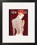 Back Story - The New Yorker Cover, September 22, 2014 Art Print by Lorenzo Mattotti