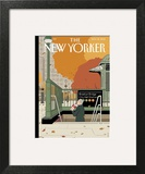 Last Straw - The New Yorker Cover, November 18, 2013 Wall Art by Adrian Tomine