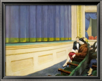 First Row Orchestra, 1951 Posters by Edward Hopper