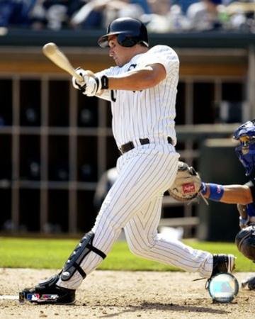 Magglio Ordonez - 2004 batting action Photo