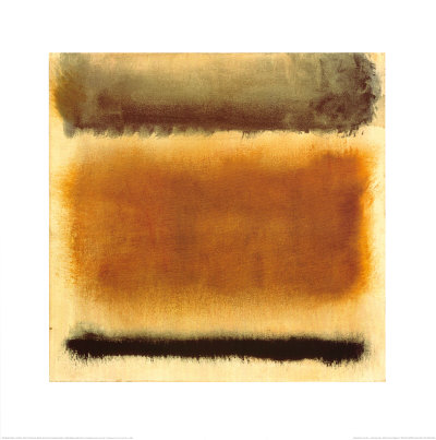 Mark Rothko Untitled abstract art print cubicle decor office decorating ideas for the modern office