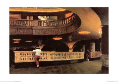 The Sheridan Theatre, c.1928 Prints by Edward Hopper