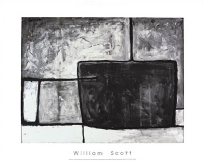 Composition II, c.1955 Serigraph by William Scott