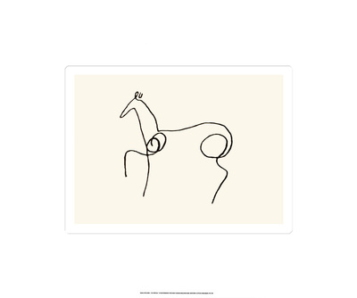 The Horse Serigraph by Pablo Picasso
