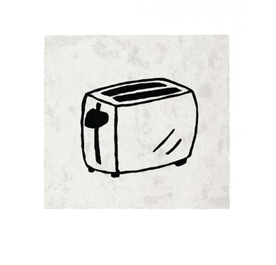 Toaster Serigraph by Allan Stevens