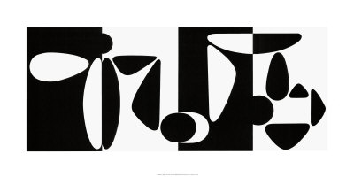 Tampico, c.1953 Serigraph by Victor Vasarely