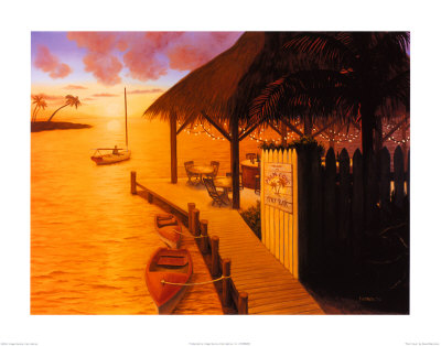 Palm Cove Prints by David Marrocco