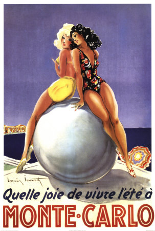 Monte Carlo Plakat