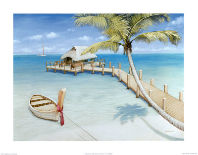 Palm View Prints by David Marrocco