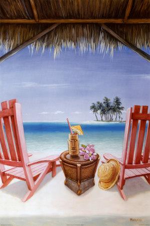 Island Retreat Poster by David Marrocco