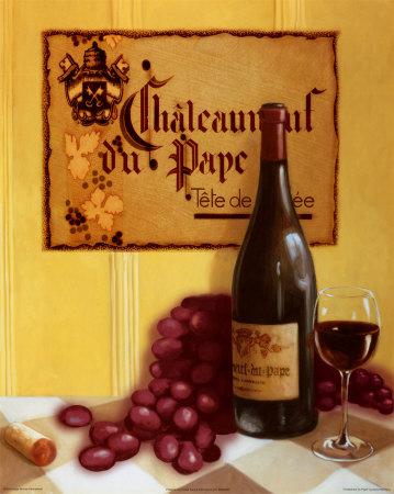 Chaleanuef Du Pape Posters by David Marrocco