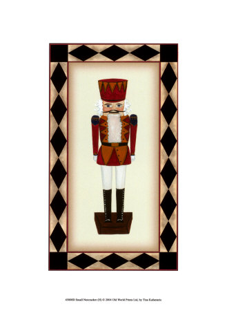 Small Nutcracker (H) Reproduction d'art