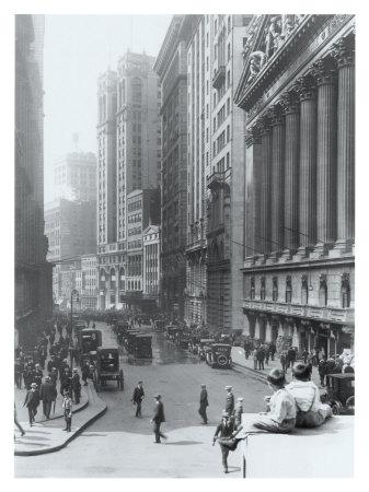 New York City, Wall Street Giclee Print