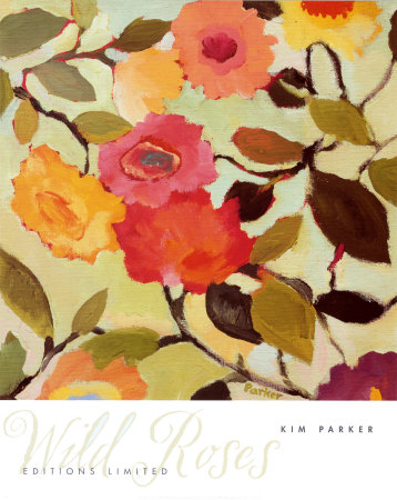 Wild Roses Posters by Kim Parker