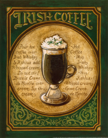 hmmmm irish coffee bailys irish coffee