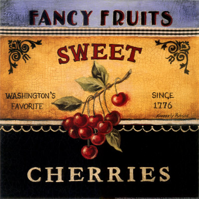 Sweet Cherries Art Print