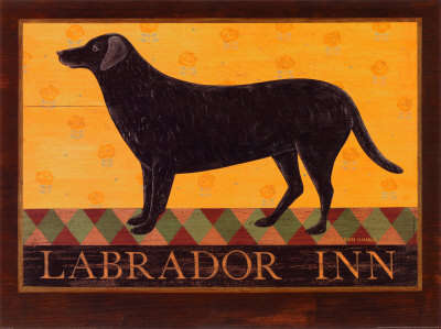 Labrador Inn Prints by Warren Kimble