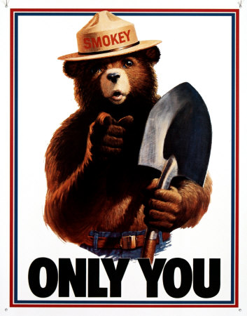 Smokey Bear Only You Tin