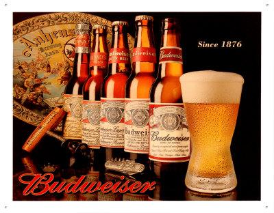 Budweiser Since 1876 Tin Sign