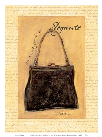 Elegante Prints by Jillian David