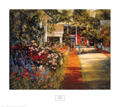 Summer Morning Posters by Barbara Applegate