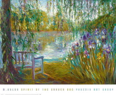 Spirit of the Garden I Posters by Mary Dulon