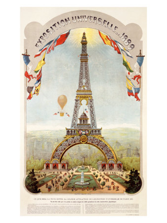 Universal Exposition Fair, Paris, c.1889 Giclee Print
