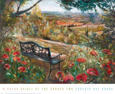 Spirit of the Garden II Prints by Mary Dulon
