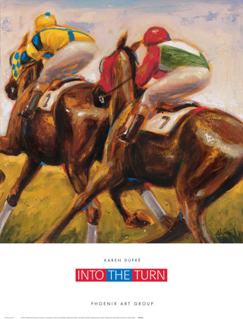 Into the Turn Prints by Karen Dupré!
