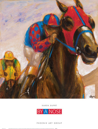 By a Nose Posters by Karen Dupré