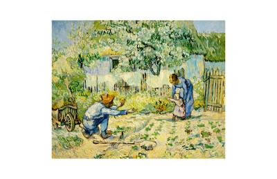 First Steps Lámina giclée por Vincent van Gogh