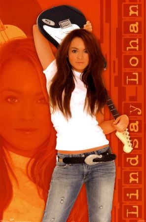 Lindsay Lohan. Lindsay Lohan - Rocks Posters