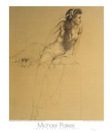 Danae Art by Michael Parkes