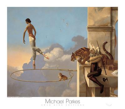Dream for Rosa Print by Michael Parkes