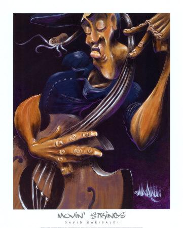 Movin' Strings Prints by David Garibaldi