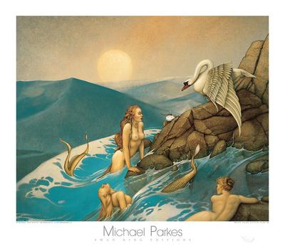 Dragon Fly Prints by Michael Parkes